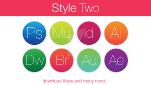 Adobe Icons Style Two by hamzasaleem