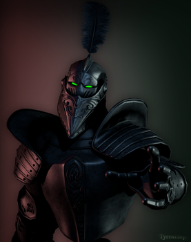 The Black Knight Ghost by Tyrexchip