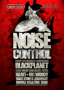 Noise Control BP Poster by snaxnz