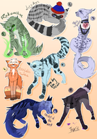Adoptables - open by Umikah