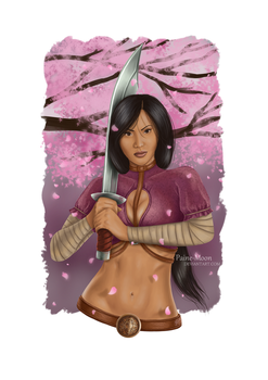 C: Wu The Lotus Blossom by Paine-Moon