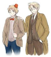 10th and 11th Doctors USUK by maybebaby83