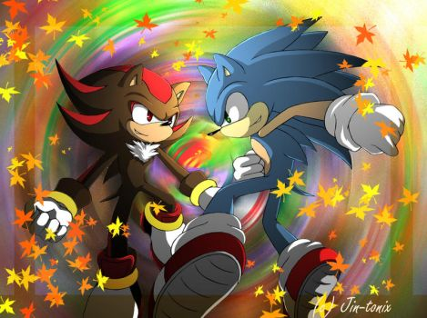 Synchronized explore synchronized on deviantart - Jeux de sonic vs shadow ...