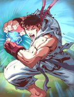 UFS - Ryu Character Card by UdonCrew