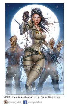 Helsing Zombiehunter Inks Sm by jamietyndall