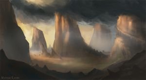 Environment concept art 3 by Narholt
