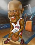 shaquille o'neal by clapano