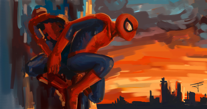 Spiderman (Painter) by sempernow