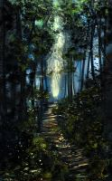 Forest Path by HecticRed