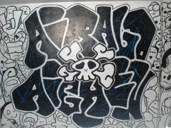 graffiti x doodle by aiRaLD22