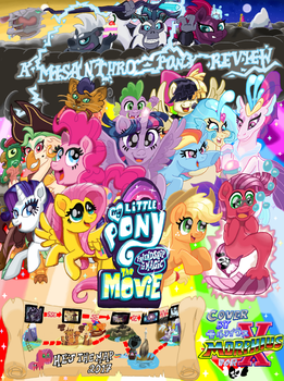 My Little Pony ~ FiM - The Movie (MAP Titlecard) by MorphiusX