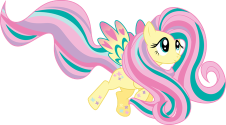 Rainbow Power Fluttershy by whizzball2