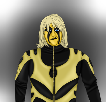 Goldust With Wig by teamspike1