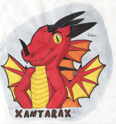 Badge Xantarax by Tails--the--Fox