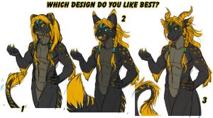 Which Design Do You Like Best ? by lady-cybercat