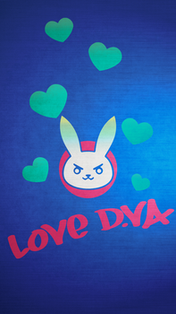 D.Va Phone Wallpaper by Assiel