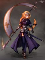 Fate - Jeanne d`Arc by FranLoL