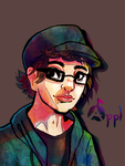 Self Portrait by Zeighous