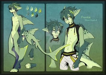Frankie the Moss Shark by RikDik by GIANT-EATER