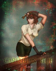 Caribbean Blue - Lucy by 6stringRaven