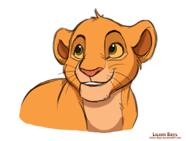 Simba's son by Lilion-Bayl