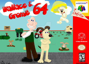 Wallace And Gromit - Aardtendo 64 by AnimationFanatic