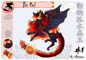 [CLOSED - TYSM!] LumenFox Closed Species Auction by Yoshimiko-Adopts