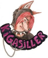 Trade - Kigasiller. Badge by Canisabscedo