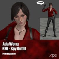 Ada Wong RE6 Spy Outfit by Adngel