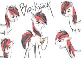 Blackjack from FoE: Project Horizons by Bluefeathercat