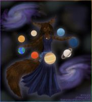 Master of planets by LunozvezdnaiaCoon
