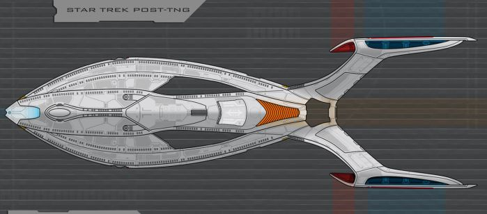 Star Trek post-TNG ship by AdamKop
