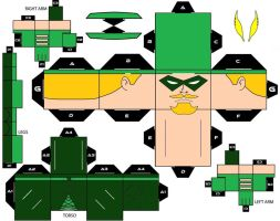 CubeeCraft Green Arrow by handita2006