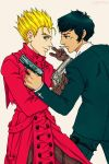 Vash and Wolfwood by dwightyoakamfan