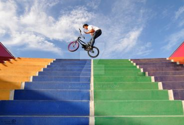 Riding The Rainbow. by Boumbah