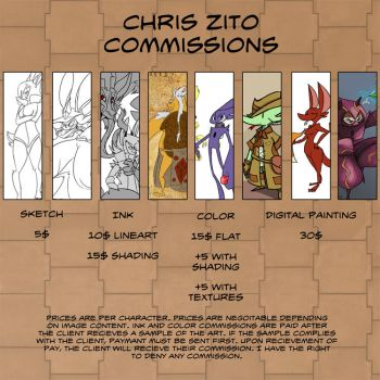 Commission Pricing by Zito-is-Neato