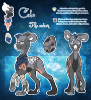 Cole - Evoloon - Reference sheet by BlueberryChill