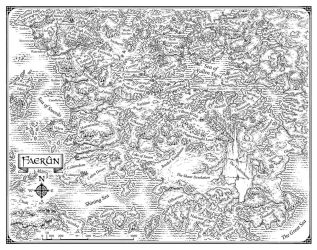 Map of Faerun by MikeSchley