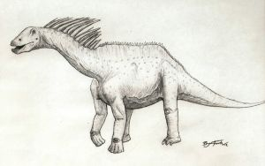 Amargasaurus by DinoHunter000
