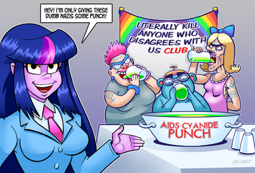 Punch A Nazi by curtsibling