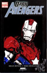 Dark Avengers - Iron Patriot by MChampion