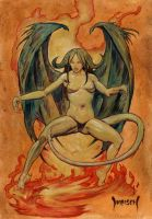 Demon Woman by Dubisch