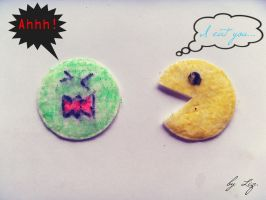 PACMAN. by LizAlasca