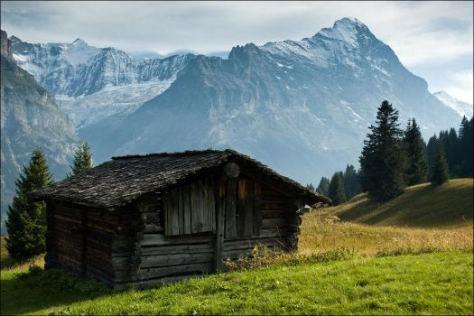 Lonely Cottage 2 by FrederikM
