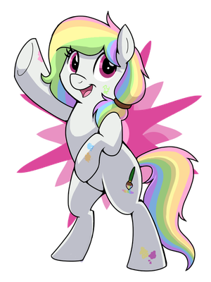 Pastel Hue - Everypony- Welcome Mascot by ItsTaylor-Made