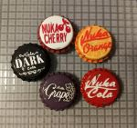 Nuka Cola Caps Assorted Flavors by WickedMarionette