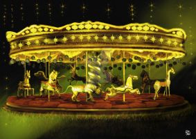 carousel by florentinad