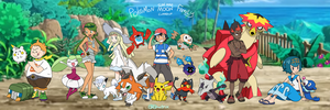 Pokemon Sun and Moon Family - CURRENT MEMBERS