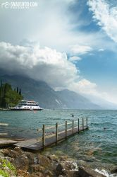 footbridge - Riva del Garda (roadtrip to tuscany) by mystic-darkness