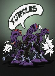 BA Tournament: Zombies foot clan by nuvalo